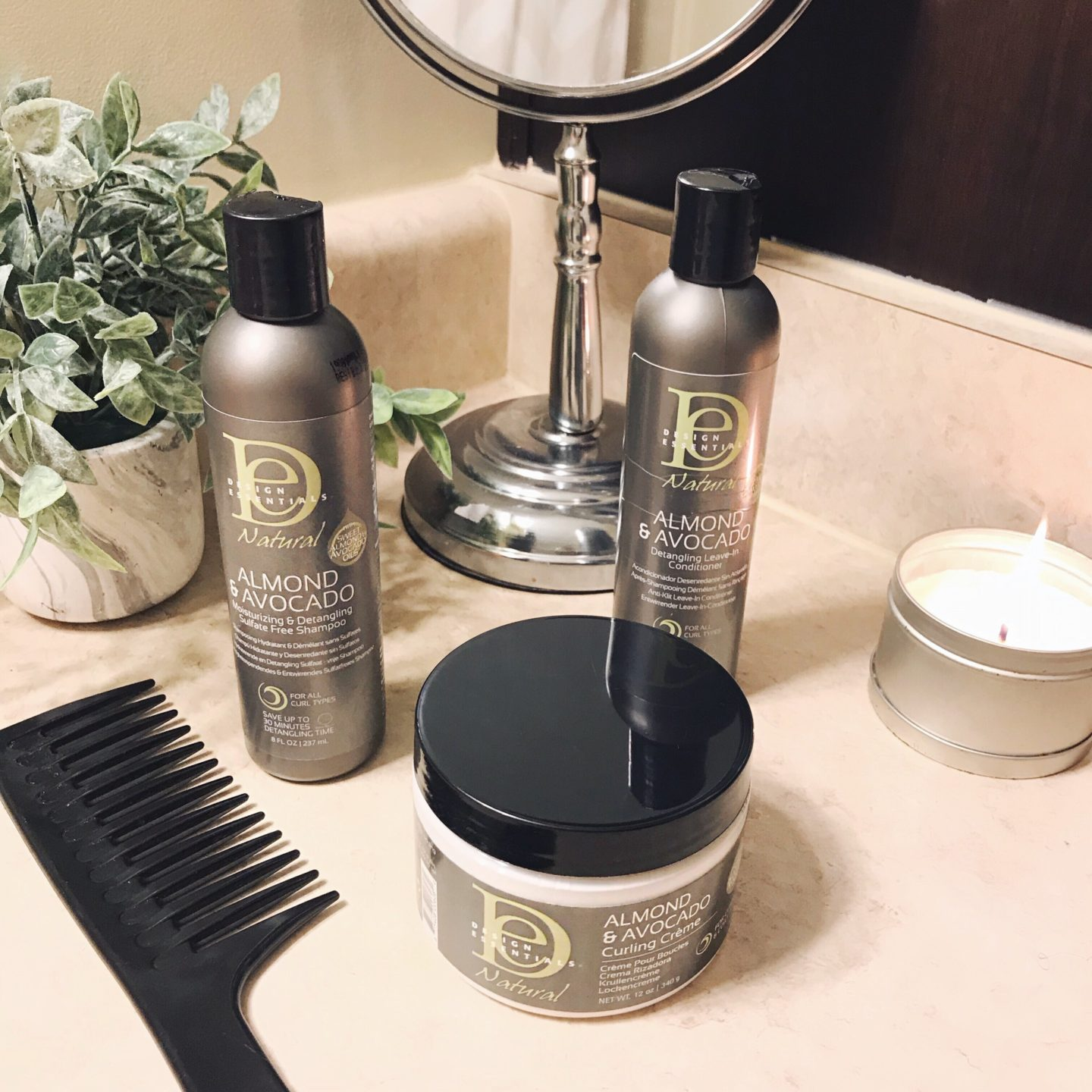 Pure Hair Design: My New Favorite Natural Hair Products- Design Essentials